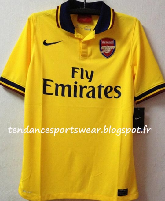 C 39 est la p riode des avants premi res chez nike apr s le for Arsenal maillot exterieur 2013