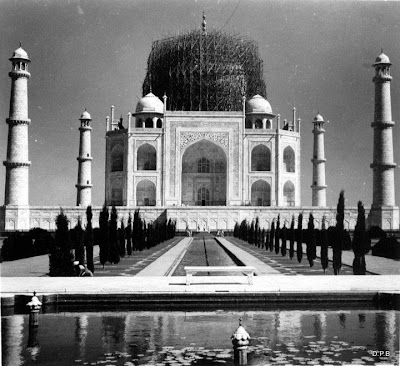 Taj Mahal Construction Time