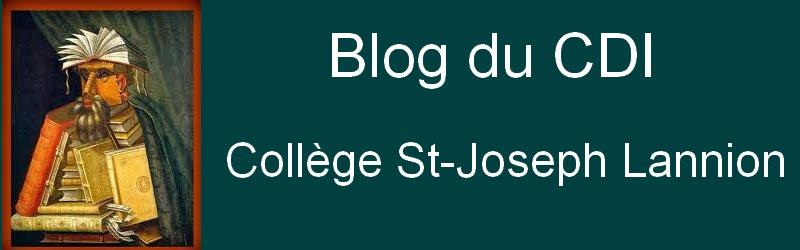 CDI du Collège St-Joseph Lannion  Prochain Club Lecture : vendredi 30 janvier !