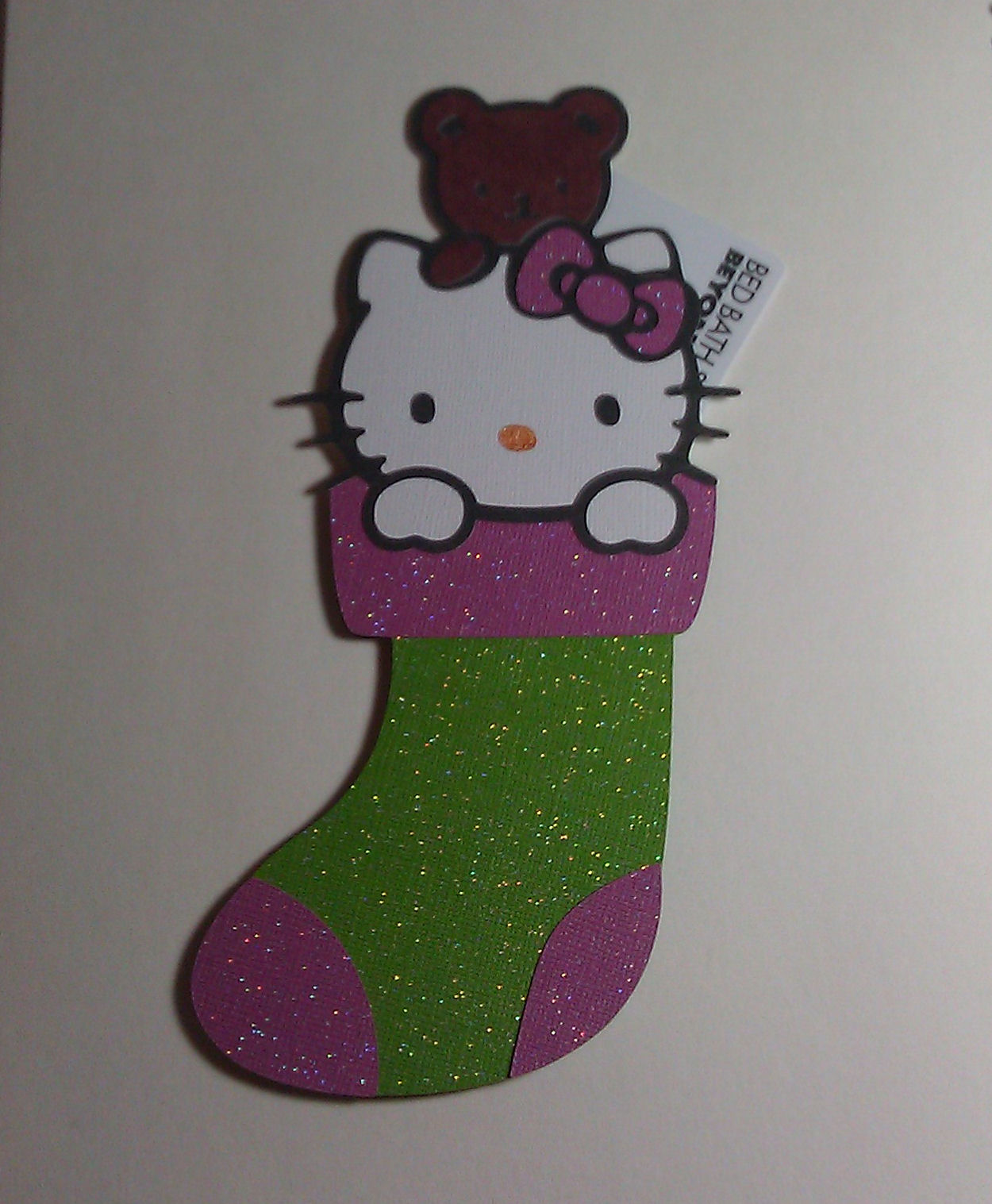 The glamorous side of scrapping hello kitty christmas party blog hop winter frolic and hello kitty greetings cricut cartridges m4hsunfo