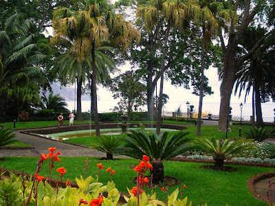 The presidential gardens in Funchal, Madeira