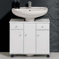 Imagenes de muebles para lavamanos for Mueble lavabo pedestal ikea