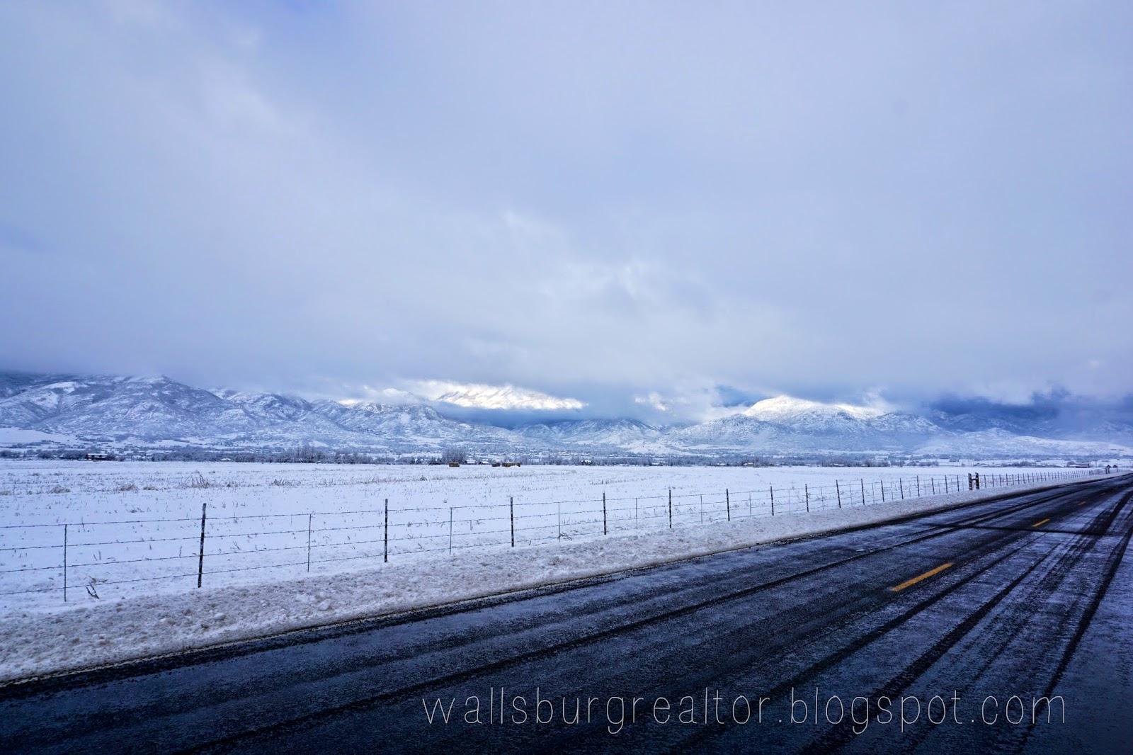 Snowy Roads Wallsburg