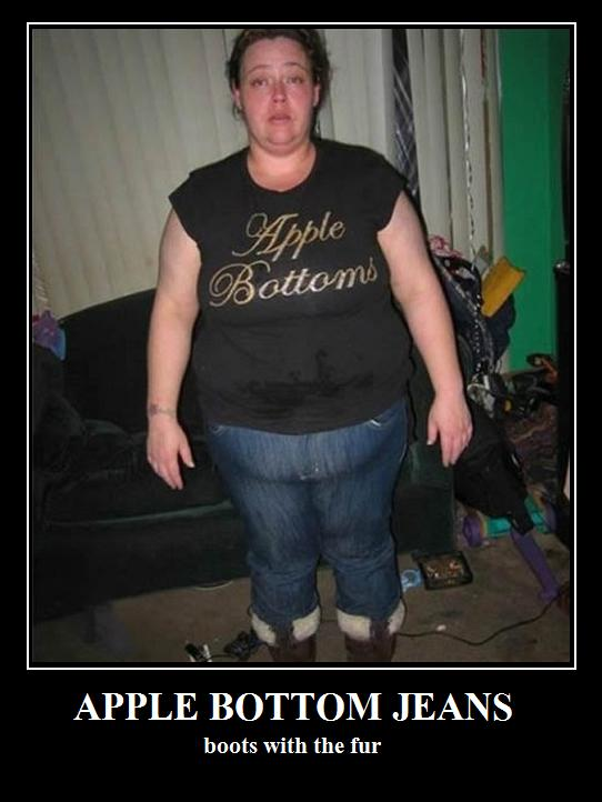 Ladies Apple Bottom Jeans