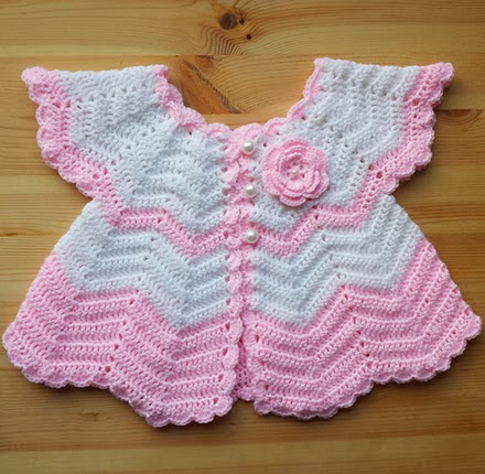 Crochet Baby Set - Free Pattern