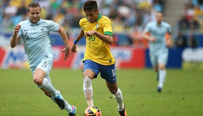 Francia vs Brasil en vivo