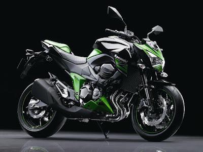Kawasaki Z800 2013 veja as primeiras imagens