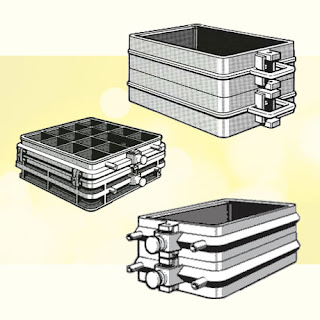 moulding (moulding) boxes or flasks tools used in forging manufacturing workshop