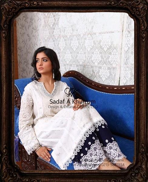 SRK by Sadaf A Khurrum Heavy Formal Fancy Dress Collection 2014–2015