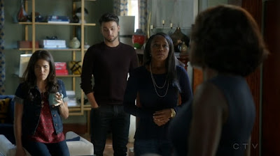 HtGAwM 2x01 She's Dying, Laurel Connor Michaela Annalise