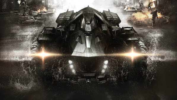 Batman Arkham Knight Batmobile 2u