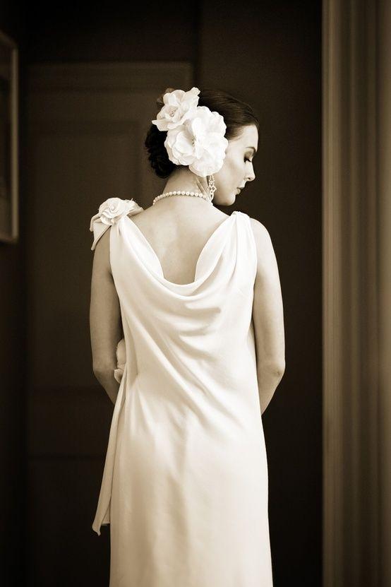 Lovelyweddingdresses recreating the 1930 s wedding dress for 1930s style wedding dresses