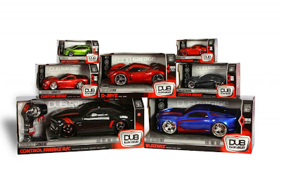 DUB Holiday Giveaway 1024x658 $125 Dub Garage Toy Prize Pack Review and Giveaway!!