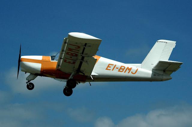 wypadek awionetki lądowanie samolotu na autostradzie
