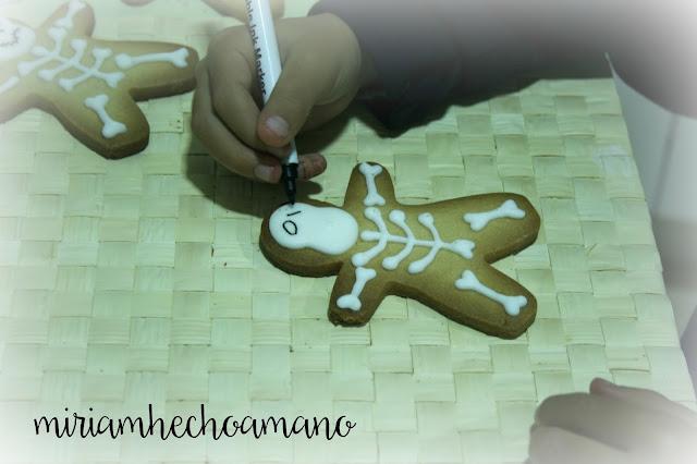 galletas esqueleto