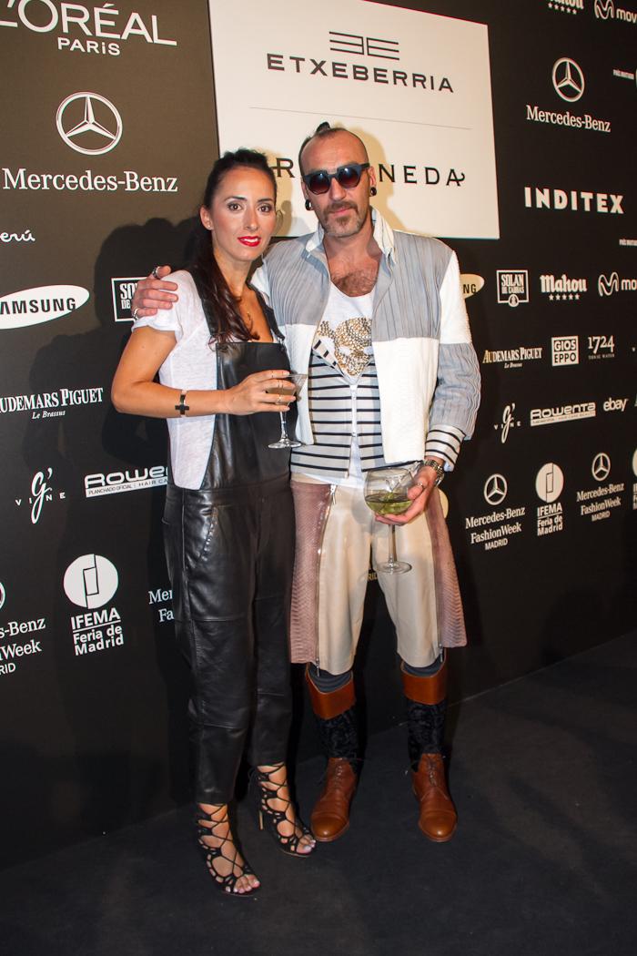 MBFW MADRID Withorwithoutshoes y el diseñador Roberto L. Etxeberria