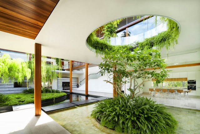 lounge garden idea
