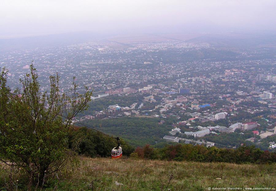 Канатная дорога на гору Машук в Пятигорске