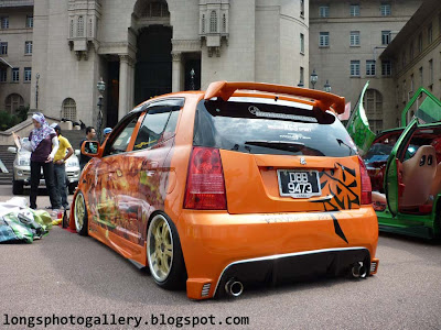 modified naza suria autoshow