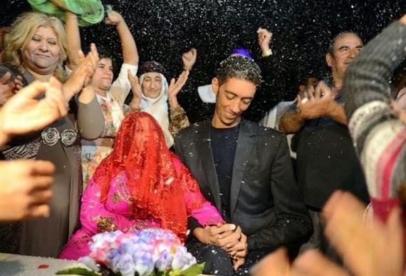زفاف اطول بالعالم2015,صور زواج اطول