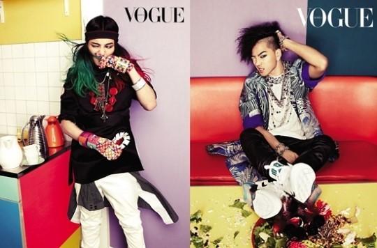 G-Dragon & Taeyang Majalah Vogue 03