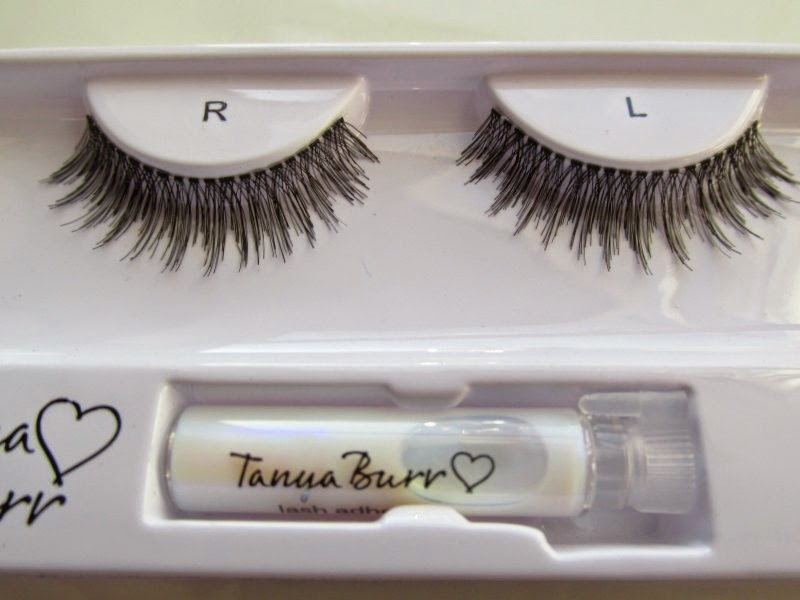 tanya burr cosmetics pretty lady lashes review