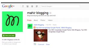 cara membuat fans page di google plus