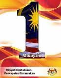 Kami menyokong Semangat 1 Malaysia