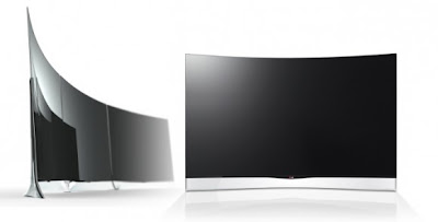 LG's 55-inch Curved OLED TV