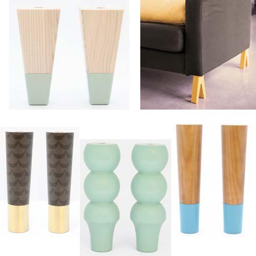 Cambia gambe arredamento facile for Gambe per mobili ikea