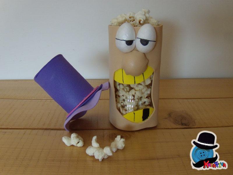 dentone porta popcorn