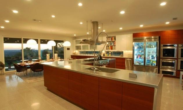 Hogares frescos 19 elegantes ideas de dise o para cocinas for Disenos de cocinas grandes
