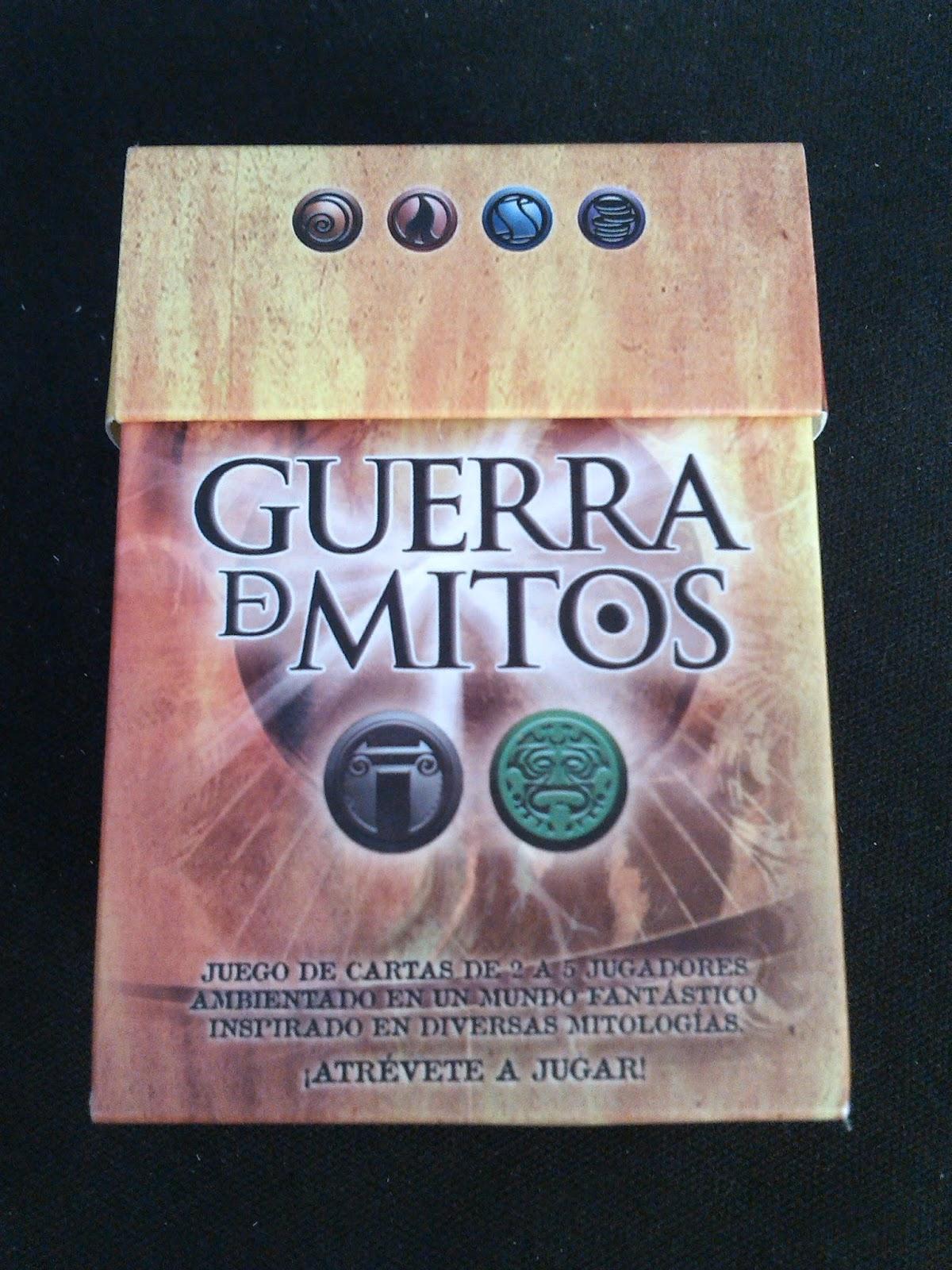 Caja de Griegos y Aztecas de Guerra de Mitos