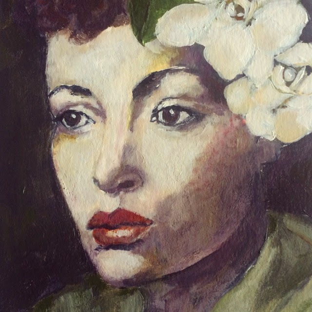 Billie Holiday Painting Galia Alena