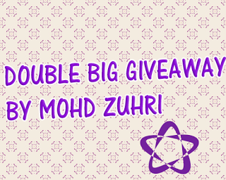 Double Big Giveaway by Mohd Zuhri