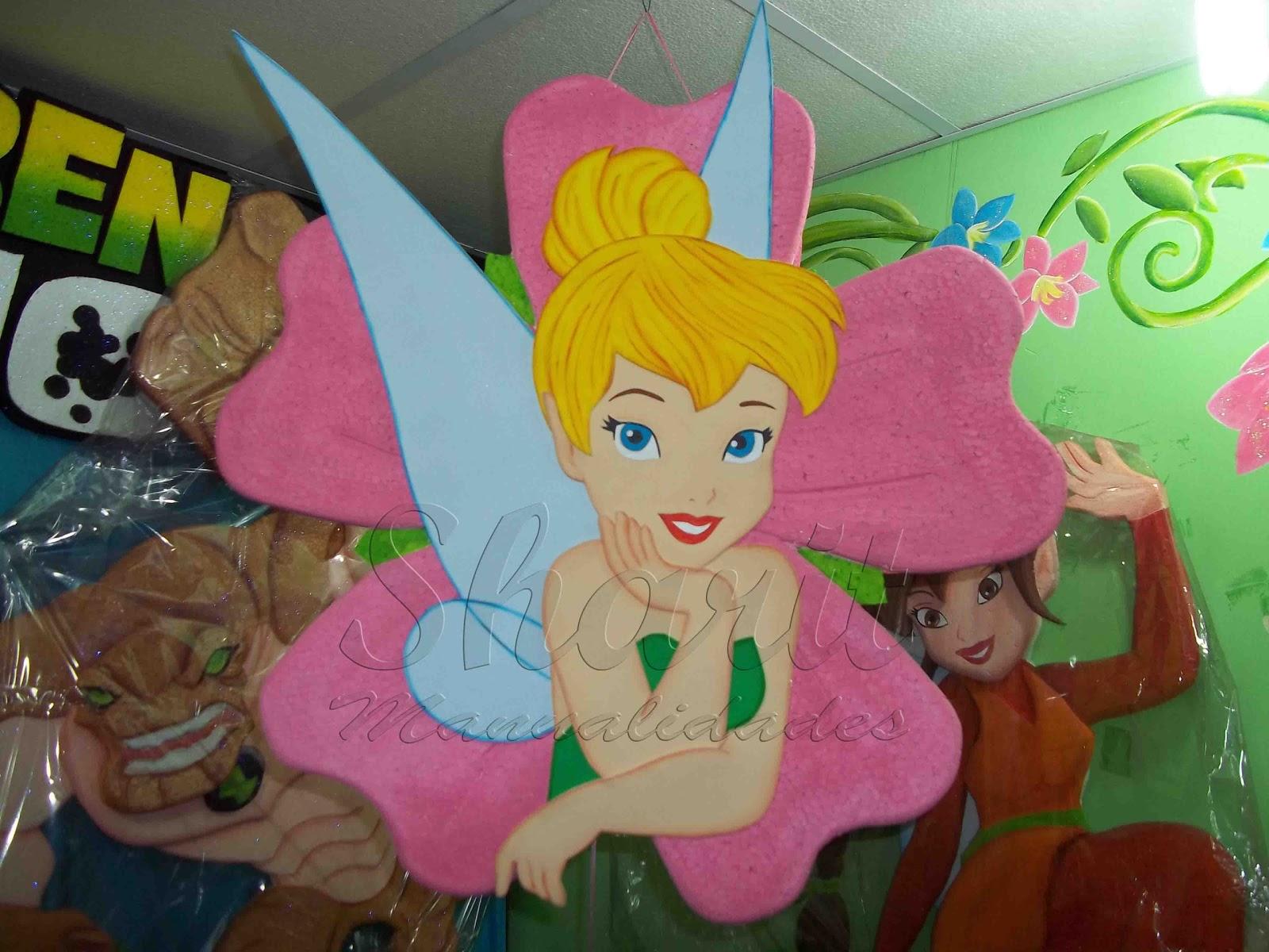 Piñatas de Tinkerbell - Imagui