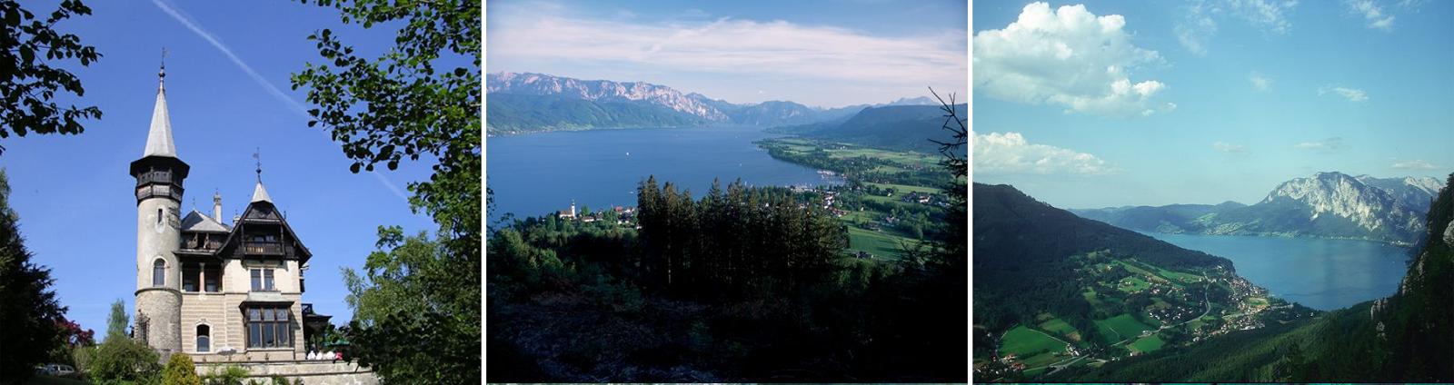 Villa Paulik, Ansichten Attersee