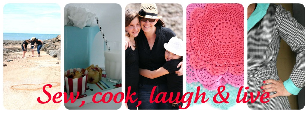 Sew, Cook, Laugh and Live