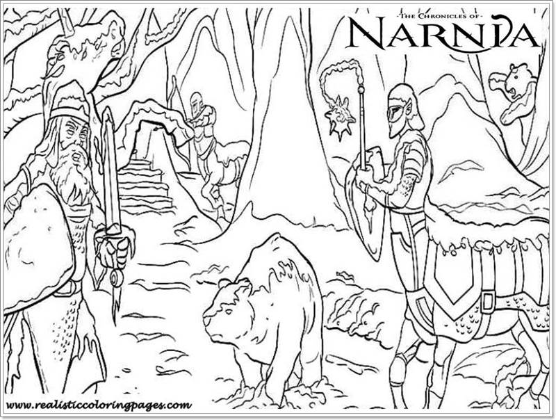 Chronicles Of Narnia Coloring Pictures