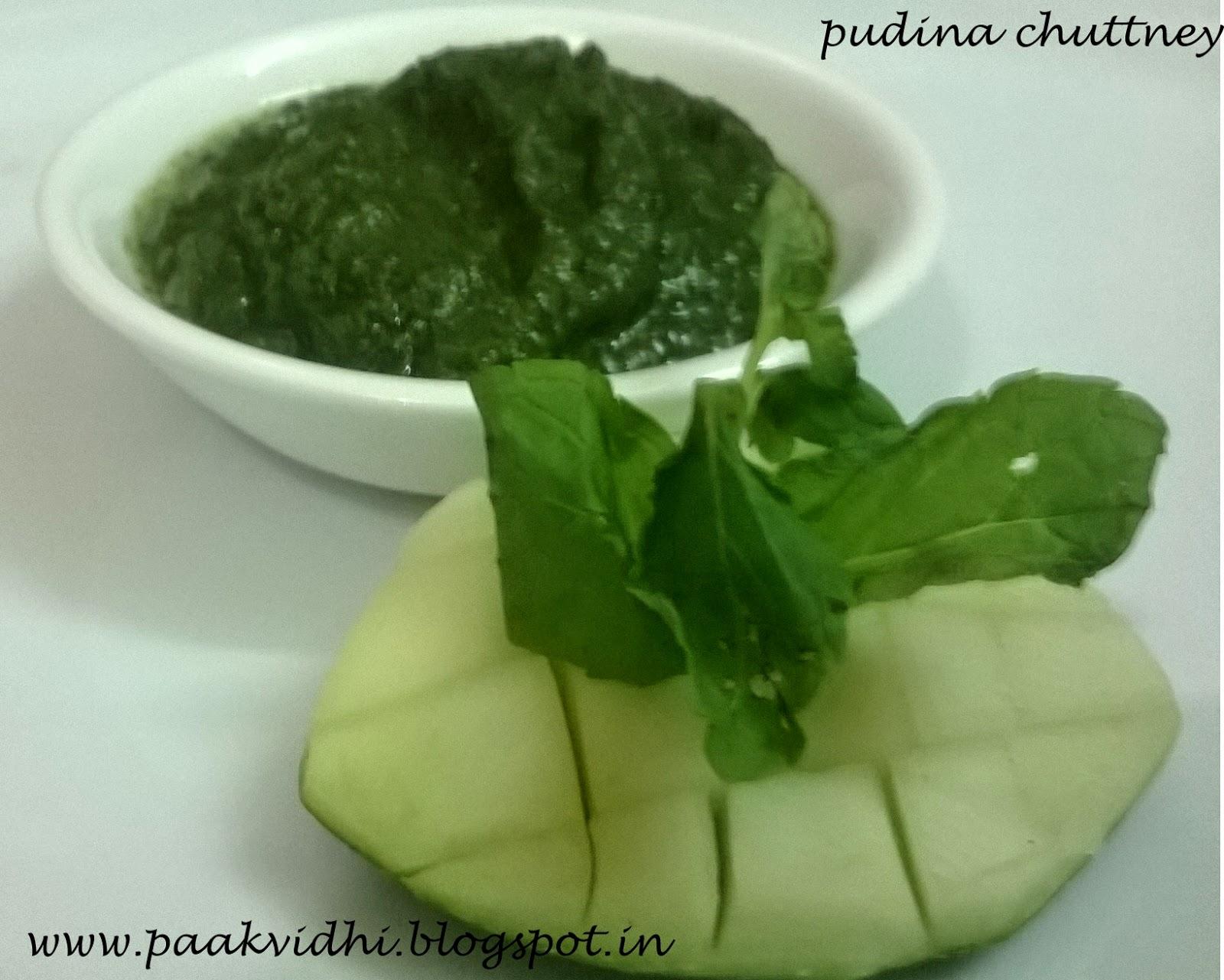 http://paakvidhi.blogspot.in/2014/07/pudina-chuttney.html