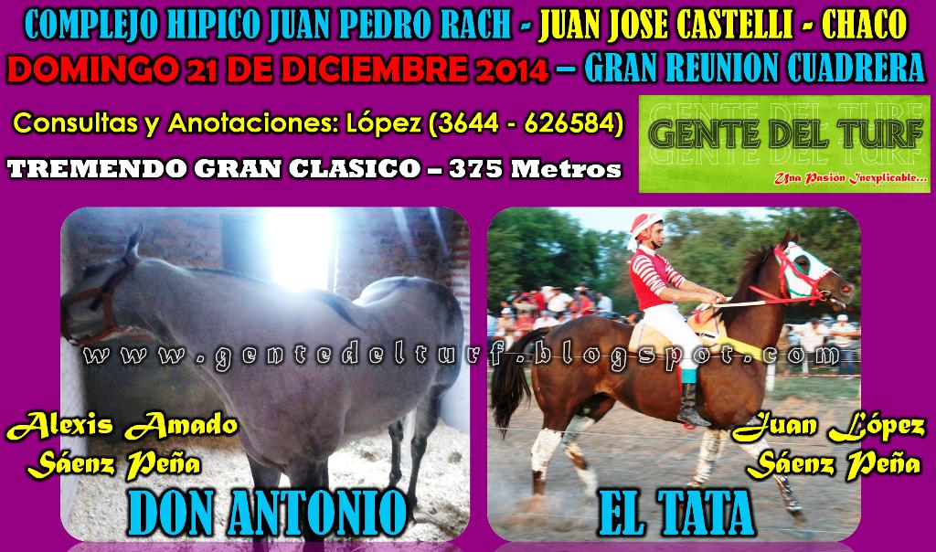 Juan Jose Castelli 21-12 Clasico