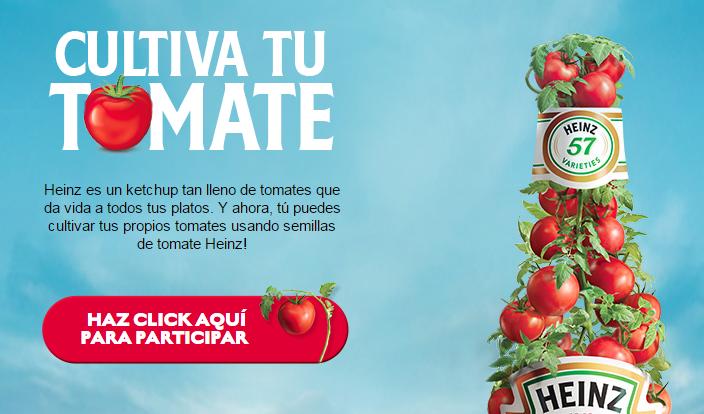 muestras gratis semills de tomate