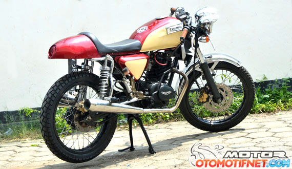 Modifikasi Honda CB 100 1976