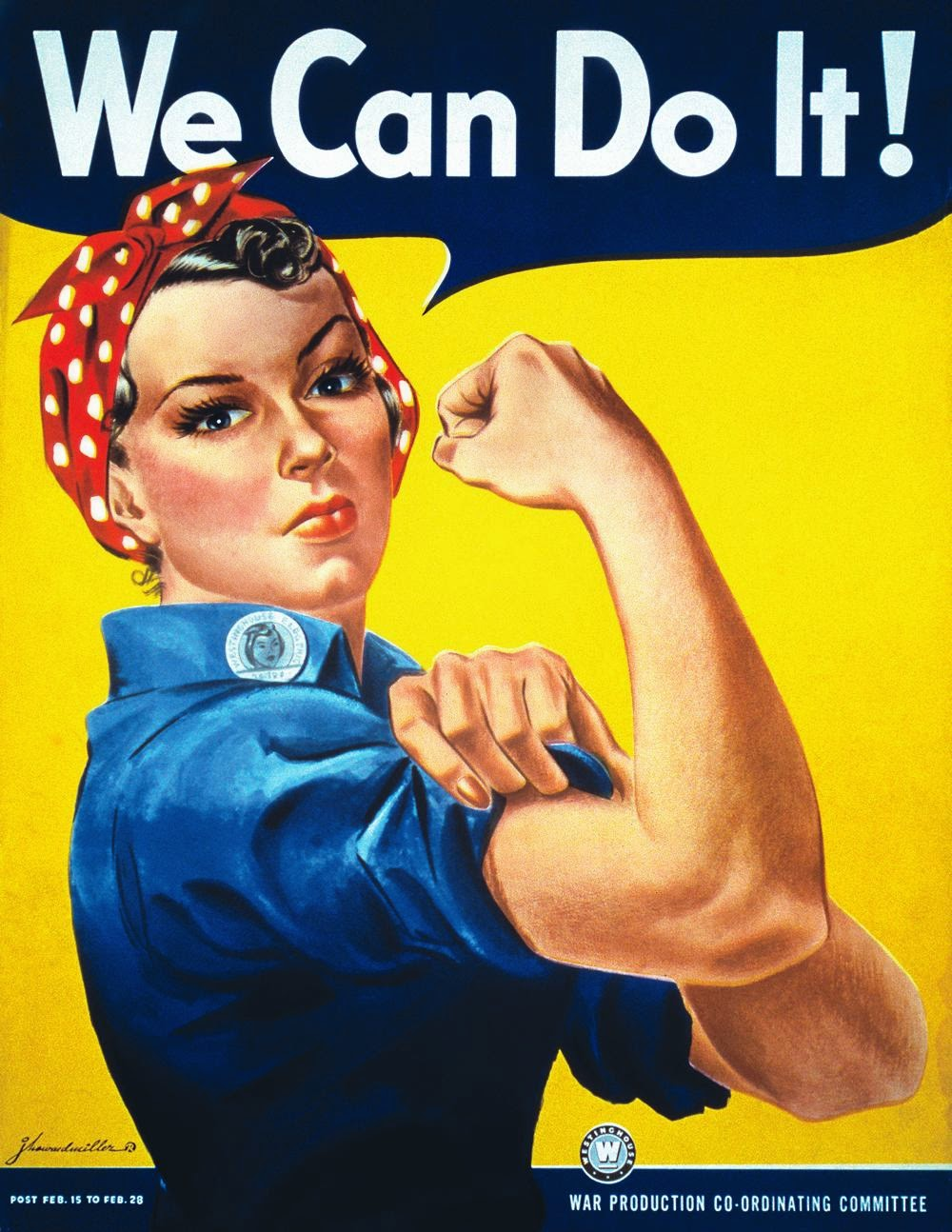 We can do it! Feminismo Capuccino e bobagens