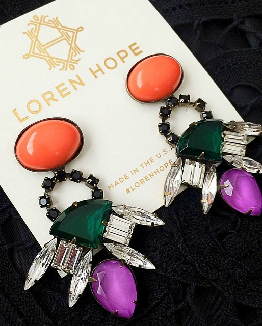 love these loren hope earrings!