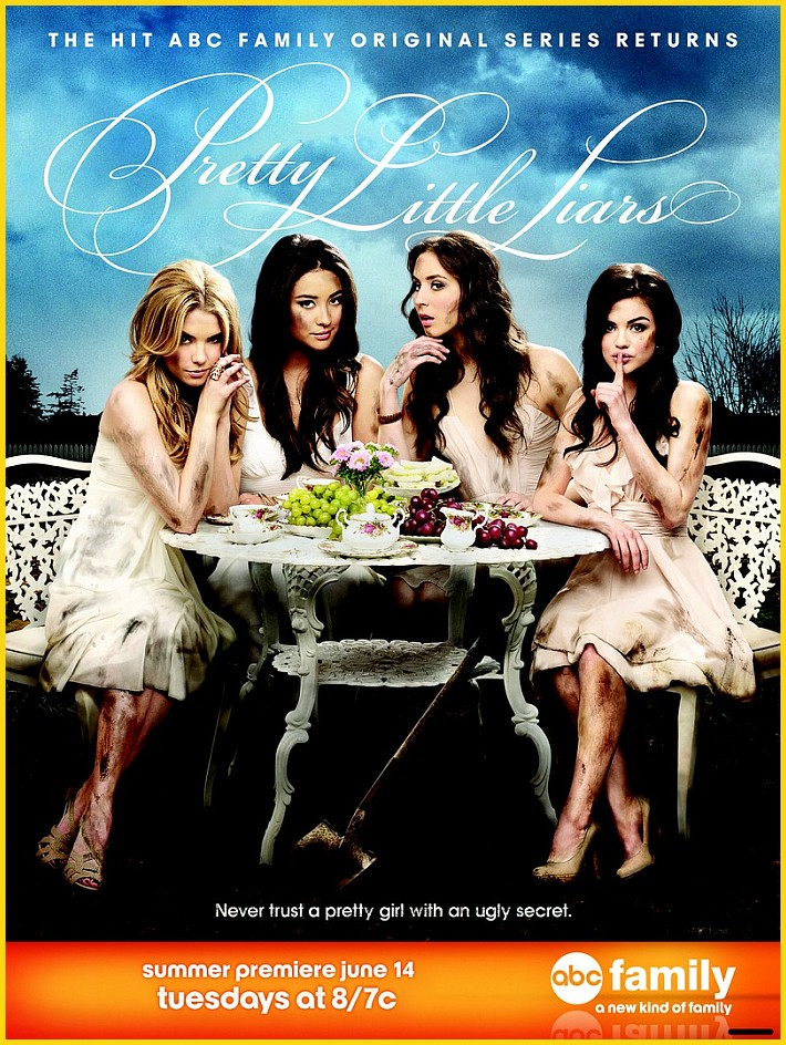 Pretty little liars poster segunda temporada