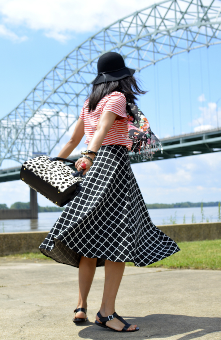 Full Skirt Outfit