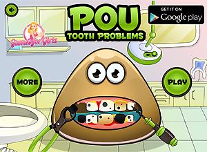 Pou en el dentista