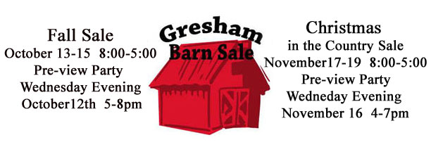 Gresham Barn Sale