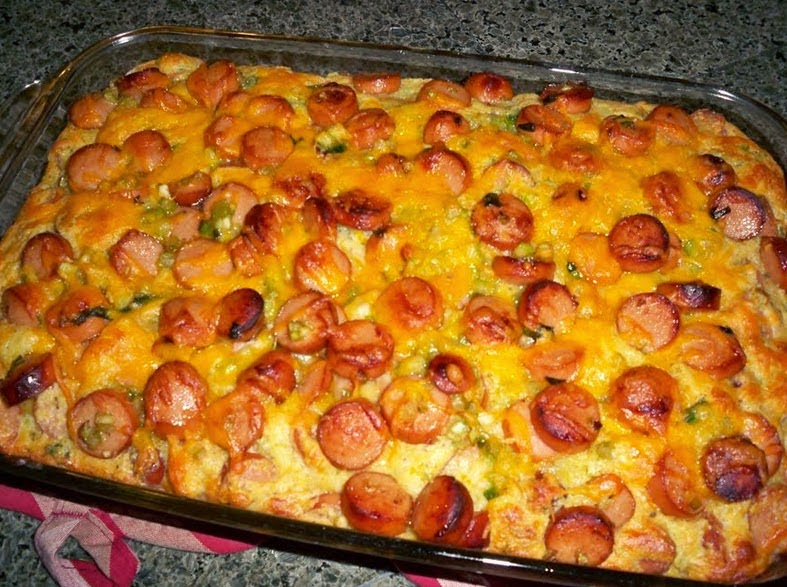 Best recipes in world hotdog casserole quot carny surprise quot